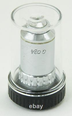 10793 Nikon 100x Microscope Objective Lens M Plan 100 / 0.90 Dry 210/0