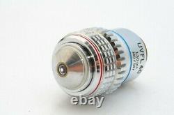 Ex Olympus UVFL 40x 1.30 Oil 160 0.17 Microscope Objective Lens 20.25mm 21219