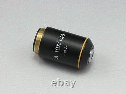 Infinity Achromatic Objective Lens for Olympus Biological Microscope Black Shell