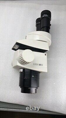 LEICA M80 Stereo Microscope With 40X6 Eyepieces and 0.32X Objective Tested