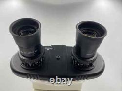 Leica CME Binocular Microscope with 4x, 10x, 40x, 100x Oil Objective Lens