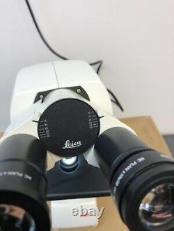 Leica DM 500 Microscope with Built-in LED Illumination & 3 Plan Objective Lenses
