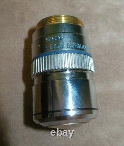Leica HC PL APO 63X/1.40-0.60 Oil / 0.17/E Microscope Objective Lens 506349
