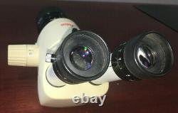 Leica MZ6 Stereo Microscope with Eye Pieces and Objective Lens See Desc