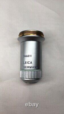 Leica N PLAN 20x/0.40 /0/D 566011 M25 Infinity Microscope Objective 2#