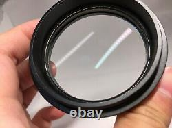 Leica Stereo Microscope Auxiliary Objective ACHRO 0.5x 10450192 f/M60 M80 etc
