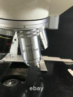 Leitz D70475 93907 Orthlux II Microscope with Objective Lenses