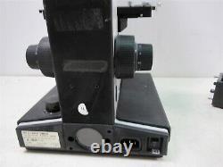 Leitz Laborlux S Type 020-505.030 Trinocular Microscope with Objective Lenses