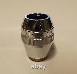 Leitz NPL 10X/0.20 DF Microscope Objective Lens Dark Field Infinity Corrected