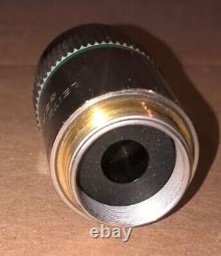Leitz Wetzlar 25X Objective, EF 25/0.50 160/0.17 Microscope Lens laborlux Mikros