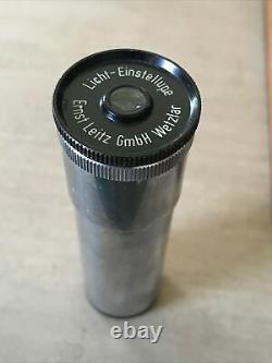Leitz Wetzlar Microscope Phase Contrast Accessory Box Objective Eyepiece Lenses