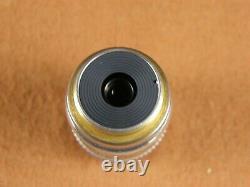 Leitz Wetzlar PLAN L 50x / 0.60 Microscope Objective Lens Infinity Long Distance