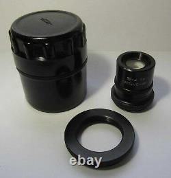 Microplanar objective lens F=65 14,5 microscope LOMO Carl Zeiss MICRO PLANAR