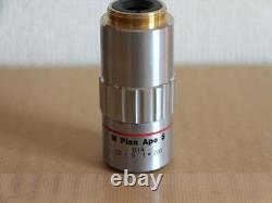 Mitutoyo Microscope Objective Lens M Plan Apo 5x/0.14 /0 f=200 Japan LTE383