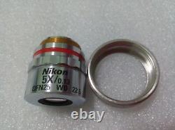 Nikon Microscope CF Plan 5x / 0.13 / 0 EPI W. D. 22.5 Objective Lens