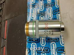 Nikon Plan 20/0.4 160/0.17 Microscope Objective Lens