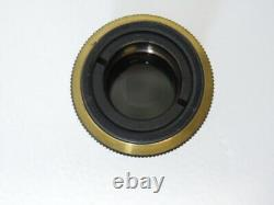 OLYMPUS 4X 0.16 Apo Apochromatic Microscope objective lens short length barrel