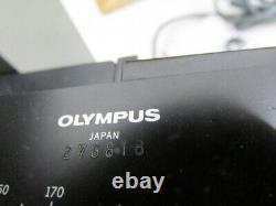 OLYMPUS CHBS Microscope Objective Lens. WORKS! Extras