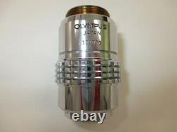 OLYMPUS SPlan s plan Apo Apochromat 10x 160 0.40 Microscope objective lens #2