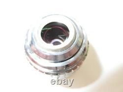 OLYMPUS SPlan s plan Apo Apochromat 4x Microscope objective lens #2