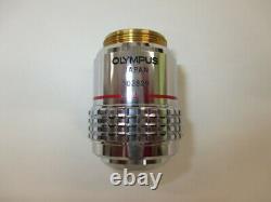 OLYMPUS SPlan s plan Apo Apochromat 4x Microscope objective lens #4