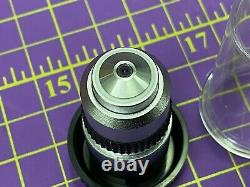 Olympus A 60, 0.8, 160/0.17 Microscope Objective Lens New