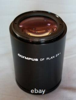 Olympus DF PLAN 2X-2 objective lens for SZH10 SZX7 SZX9 SZX10 stereo microscopes