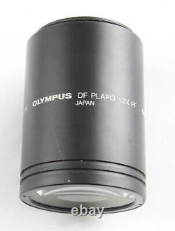 Olympus DF PlApo 1.2x PF SZX Objective Lens Stereo Microscope Plan Apo
