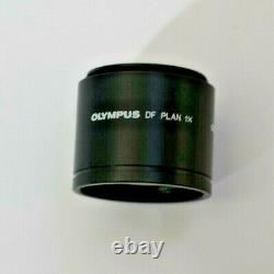 Olympus Df Plan 1x Stereo Microscope Objective Lens For The Szh & Szx Series