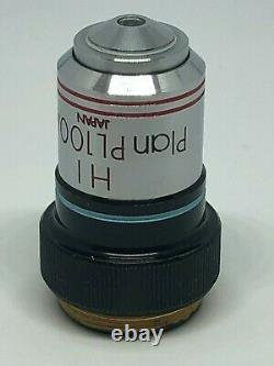 Olympus HI Plan PL100 /1.25 Microscope Objective Lens