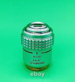 Olympus SPLANAPO 4X/0.16 Microscope Objective Lens 160mm S Plan APO Apochromat