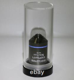 Olympus UMPlanFl 50x/0.80 BD /0 Microscope Objective Eyepiece Lens MINTY