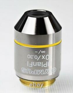 Olympus UPlanFL 10x/0.30, / Microscope Objective / Lens
