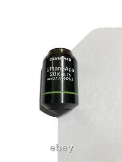 Olympus UPlanSApo 20x 0.75 UIS 2 Microscope Objective Lens for BX CX IX