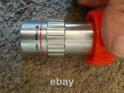 RARE Mitutoyo M Plan Apo 5 x 0.14 Microscope Lens Objective with case PN 378-802-2