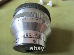 REFLECTING OBJECTIVE LENS, x 36/. 5, VINTAGE MICROSCOPY by BECK, LONDON + NOTES