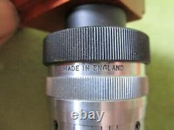 REFLECTING OBJECTIVE LENS, x 52/. 65, VINTAGE MICROSCOPY by BECK LONDON + NOTES