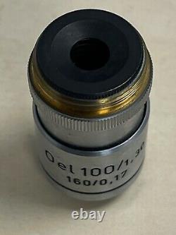 Reichert OEL100/1.30 160/0.17 Microscope Objective Lens