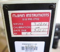 Southland McBain Instruments Microscope 4 Objective Lenses With Panasonic Camera