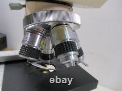 Swift M1000-D Binocular Microscope Laboratory Medical with 4 Objective Lenses