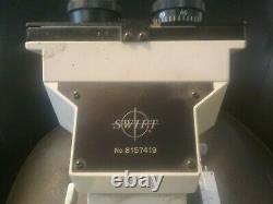 Swift M1000-D Binocular Microscope with 4 Objective Lenses
