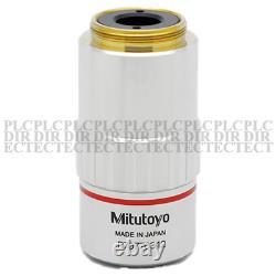 USED Mitutoyo M Plan Apo 5x/0.14 Microscope Objective Lens