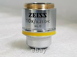 ZEISS EC Epiplan-NEOFLUAR 10X /0.25 DIC Microscope objective Lens
