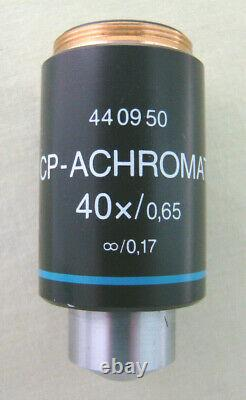 Zeiss 40X CP-Achromat Infinity Objective Lens