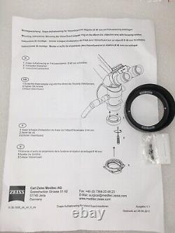 Zeiss Opmi Microscope Fine Focusing Objective Lens F=300mm