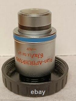 Zeiss Plan-APOCHROMAT 63x /1.4 Oil DIC Microscope Objective Lens