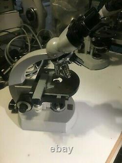 Zeiss standard binocular microscope Zeiss Planopo objective lenses
