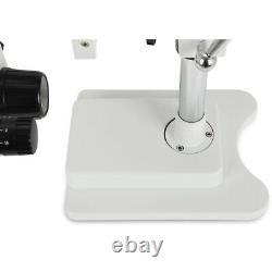 Zoom 3.5X-90X Simul-focal Trinocular Stereo Microscope Set Objective Barlow Lens