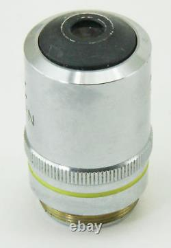 10820 Nikon 10x Objectif Microscope Objectif M Plan 10 / 0,25 210/0