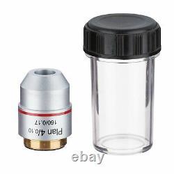 195 Plan De Microscope Biologique Objectif Objectif Objectif 4x -100x Rms Fil 160/0,17
